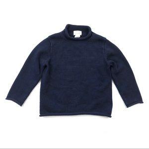 J. Crew Crewcuts boys' 4 5 navy blue sweater